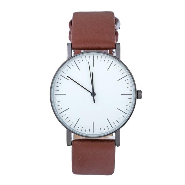 Thin Casual Wristwatch, , Gifts for Designers, Clean minimal gifts for designers and creatives, gift, design, designer - Gifts for Designers, Gifts for Architects