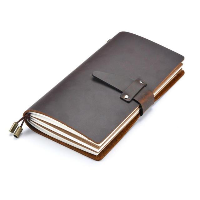 Genuine leather notebook, , Gifts for Designers, Clean minimal gifts for designers and creatives, gift, design, designer - Gifts for Designers, Gifts for Architects