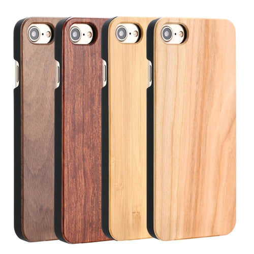 Real Wood Case For iphone 7 6 6S Plus 5 5S SE C, , Clean minimal gifts for designers and creatives, gift, design, designer - Gifts for Designers