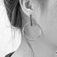 Geometric Metal Earrings, , Gifts for Designers, Clean minimal gifts for designers and creatives, gift, design, designer - Gifts for Designers, Gifts for Architects