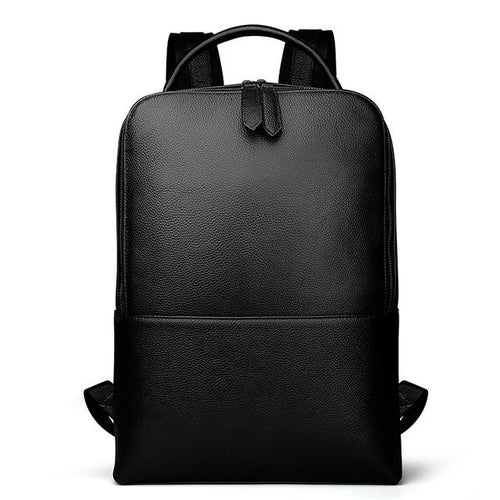 Black Minimal Leather Backpack, , Gifts for Designers, Clean minimal gifts for designers and creatives, gift, design, designer - Gifts for Designers, Gifts for Architects