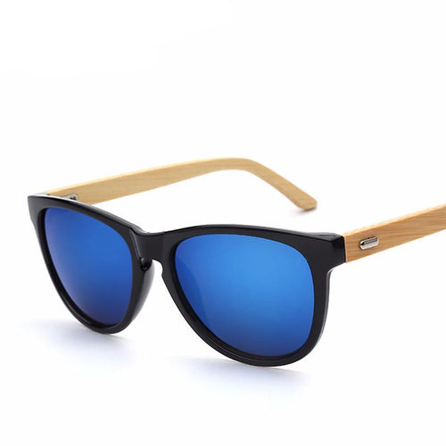 Oval Shape Bamboo Sunglasses, , Clean minimal gifts for designers and creatives, gift, design, designer - Gifts for Designers