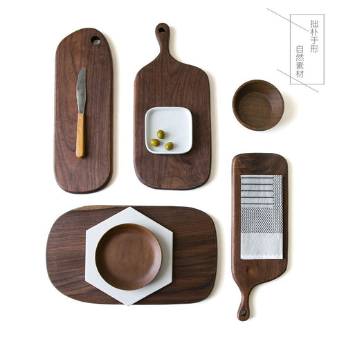 Wood Bread Board Pizza Board Cutting Board With Handle Hole, , Gifts for Designers, Clean minimal gifts for designers and creatives, gift, design, designer - Gifts for Designers, Gifts for Architects