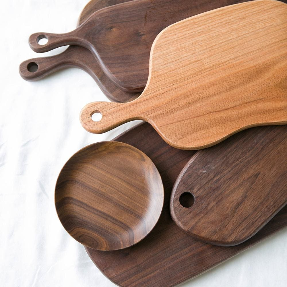 ... Wood Bread Board Pizza Board Cutting Board With Handle Hole, , Gifts  For Designers, ...