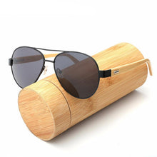 Pilot Bamboo Sunglasses, , Gifts for Designers, Clean minimal gifts for designers and creatives, gift, design, designer - Gifts for Designers, Gifts for Architects