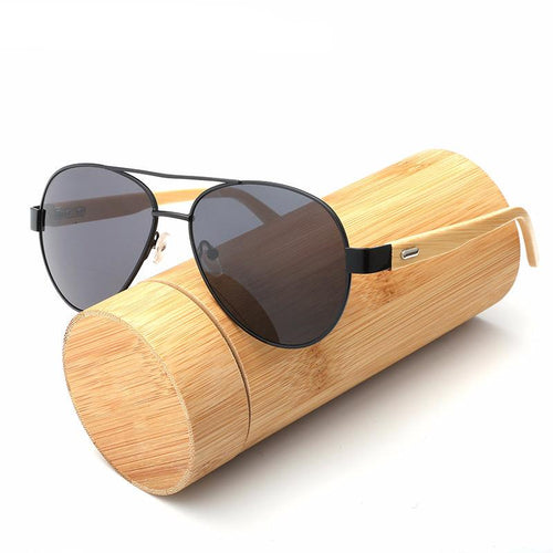 Pilot Bamboo Sunglasses, , Clean minimal gifts for designers and creatives, gift, design, designer - Gifts for Designers