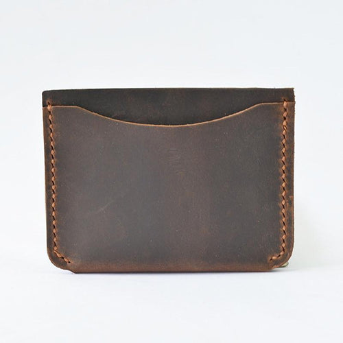 Handmade Leather Card Holder, , Clean minimal gifts for designers and creatives, gift, design, designer - Gifts for Designers