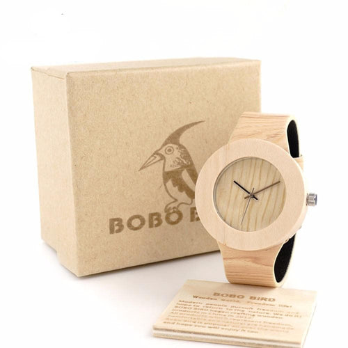 BOBO BIRD Pine Wooden Watch, , Clean minimal gifts for designers and creatives, gift, design, designer - Gifts for Designers, 100+ Awesome Holiday Gifts for Designers