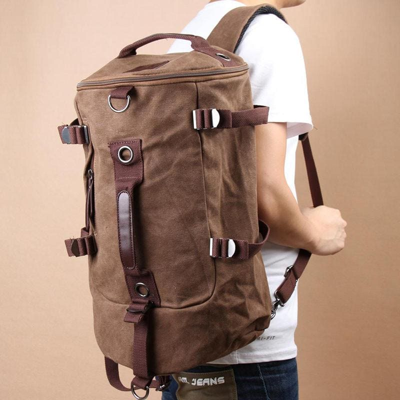 9a7abc8fa Large Capacity Vintage Canvas Rucksack, , Gifts for Designers, Clean  minimal gifts for designers ...