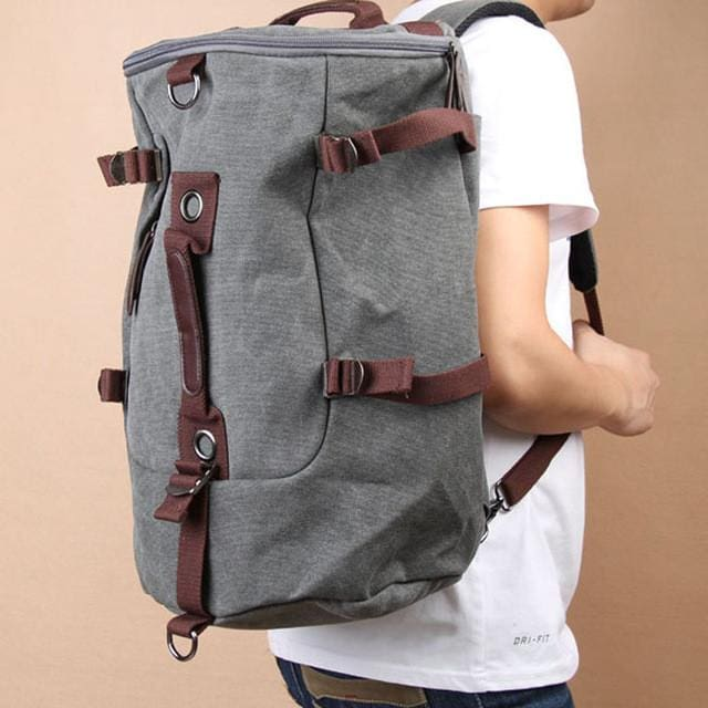 e427a9e77 ... Large Capacity Vintage Canvas Rucksack, , Gifts for Designers, Clean  minimal gifts for designers ...