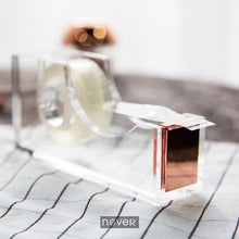 Rose Gold Edition Tape Dispenser, , Gifts for Designers, Clean minimal gifts for designers and creatives, gift, design, designer - Gifts for Designers, Gifts for Architects