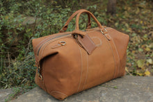 Vintage Style Genuine Leather Large Capacity Duffel Bag | Leather Travel Bag, , Gifts for Designers, Clean minimal gifts for designers and creatives, gift, design, designer - Gifts for Designers, Gifts for Architects