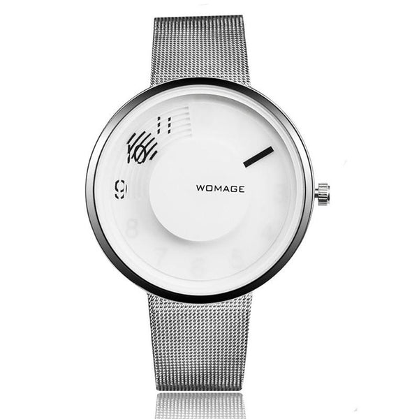 Simple Stainless Steel Strap Watch, , Gifts for Designers, Clean minimal gifts for designers and creatives, gift, design, designer - Gifts for Designers, Gifts for Architects