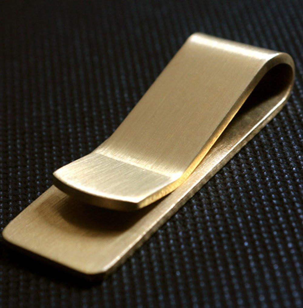 Brass Money Clip, Money Clip, Gifts for Designers, Clean minimal gifts for designers and creatives, gift, design, designer - Gifts for Designers, Gifts for Architects