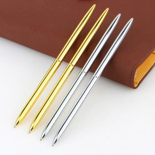 Metal Brass Slim Ball Point Pens, , Clean minimal gifts for designers and creatives, gift, design, designer - Gifts for Designers