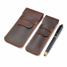 Handmade Genuine Leather Pen Case, , Gifts for Designers, Clean minimal gifts for designers and creatives, gift, design, designer - Gifts for Designers, Gifts for Architects