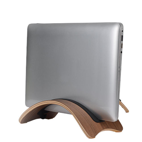 Natural Wood Lightweight Wooden Laptop Stand Holder