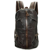 Cowhide Genuine Leather Vintage Backpack, , Gifts for Designers, Clean minimal gifts for designers and creatives, gift, design, designer - Gifts for Designers, Gifts for Architects