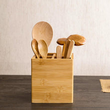 Bamboo Kitchen Storage Container, , Clean minimal gifts for designers and creatives, gift, design, designer - Gifts for Designers, 100+ Awesome Holiday Gifts for Designers