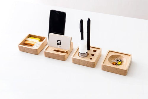 Wooden Desktop Storage System, , Clean minimal gifts for designers and creatives, gift, design, designer - Gifts for Designers
