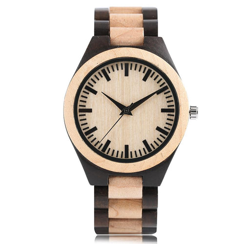 Full Wooden Hand-made Design Watch, , Clean minimal gifts for designers and creatives, gift, design, designer - Gifts for Designers