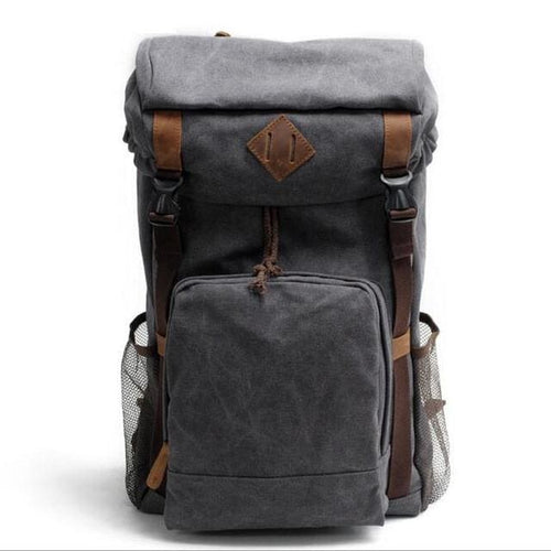 High Quality Vintage Travel Rucksack, , Clean minimal gifts for designers and creatives, gift, design, designer - Gifts for Designers