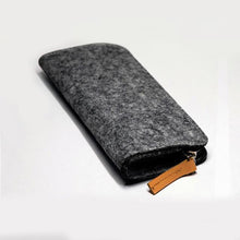 zipper Wool felt pencil case, , Gifts for Designers, Clean minimal gifts for designers and creatives, gift, design, designer - Gifts for Designers, Gifts for Architects