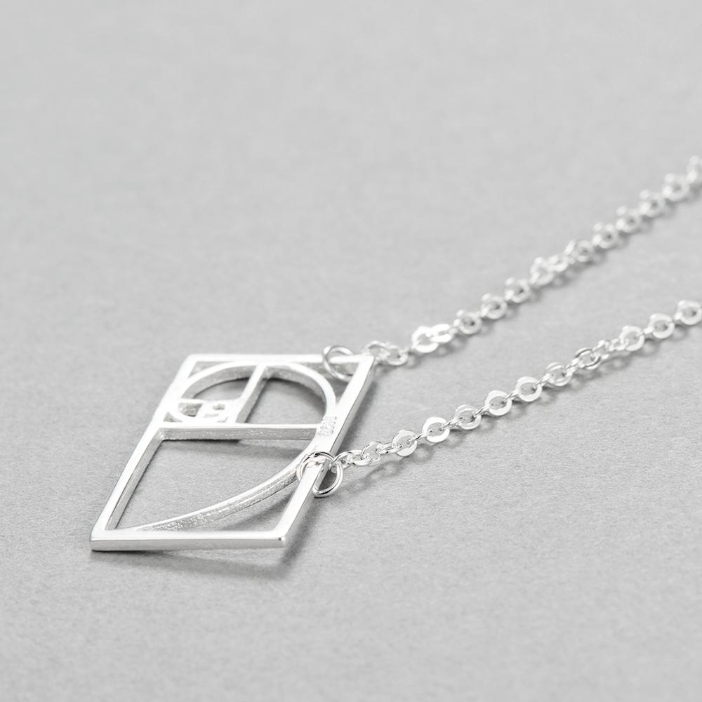 Golden Ratio Pendant, , Gifts for Designers, Clean minimal gifts for designers and creatives, gift, design, designer - Gifts for Designers, Gifts for Architects
