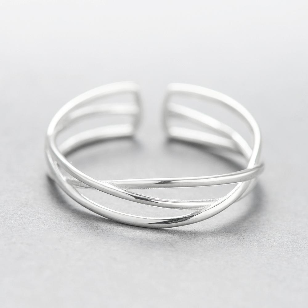 Woven Wire Sterling Silver Ring – Gifts for Designers