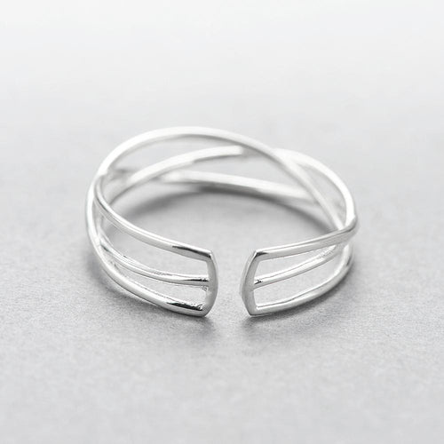 Woven Wire Sterling Silver Ring