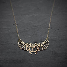 Geometric Scarab Necklace, , Gifts for Designers, Clean minimal gifts for designers and creatives, gift, design, designer - Gifts for Designers, Gifts for Architects