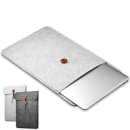 Wool Felt Sleeve Laptop Sleeve, , Gifts for Designers, Clean minimal gifts for designers and creatives, gift, design, designer - Gifts for Designers, Gifts for Architects