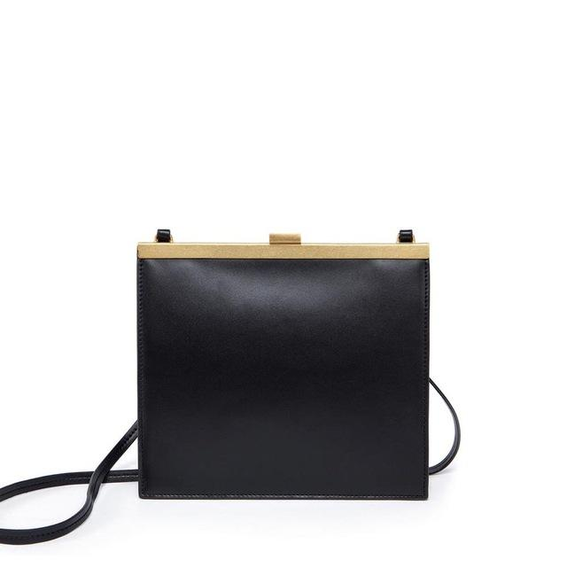 CLASSIC LEATHER VINTAGE SHOULDER BAG, , Gifts for Designers, Clean minimal gifts for designers and creatives, gift, design, designer - Gifts for Designers, Gifts for Architects