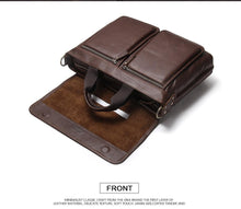 Genuine Leather Men Briefcase, , Gifts for Designers, Clean minimal gifts for designers and creatives, gift, design, designer - Gifts for Designers, Gifts for Architects