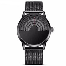 Half Face Stainless Steel Watch, , Gifts for Designers, Clean minimal gifts for designers and creatives, gift, design, designer - Gifts for Designers, Gifts for Architects