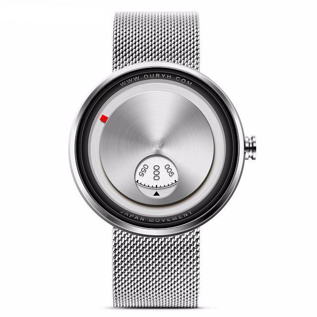 Minimal Steel Faced Watch