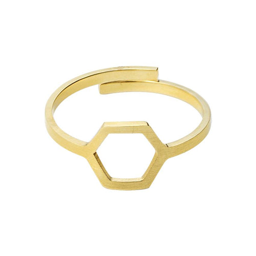 The Hex - Minimal Ring, , Gifts for Designers, Clean minimal gifts for designers and creatives, gift, design, designer - Gifts for Designers, Gifts for Architects