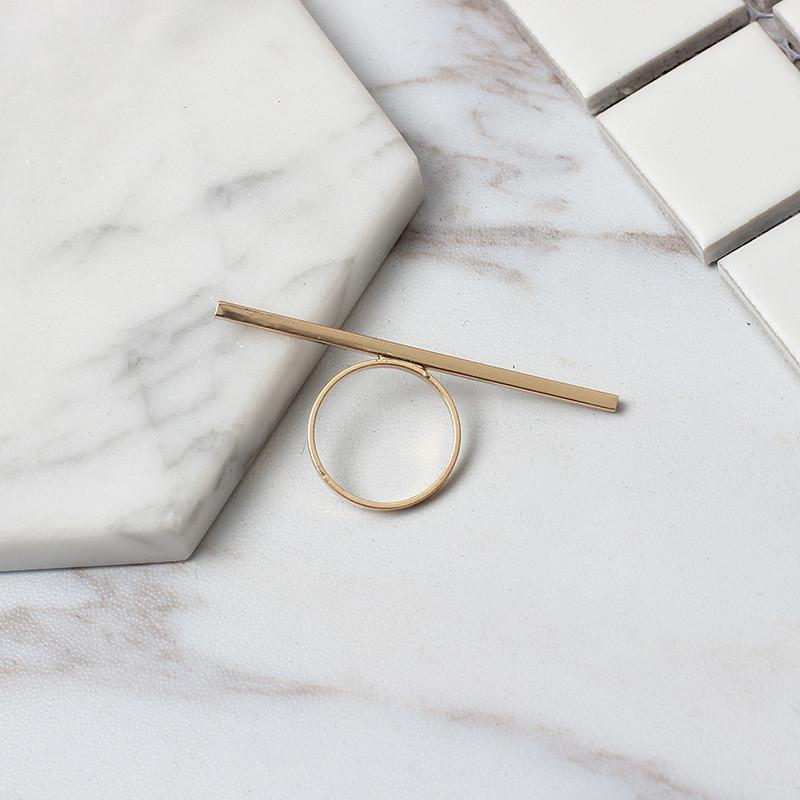 Long Bar Minimalist Ring, , Gifts for Designers, Clean minimal gifts for designers and creatives, gift, design, designer - Gifts for Designers, Gifts for Architects