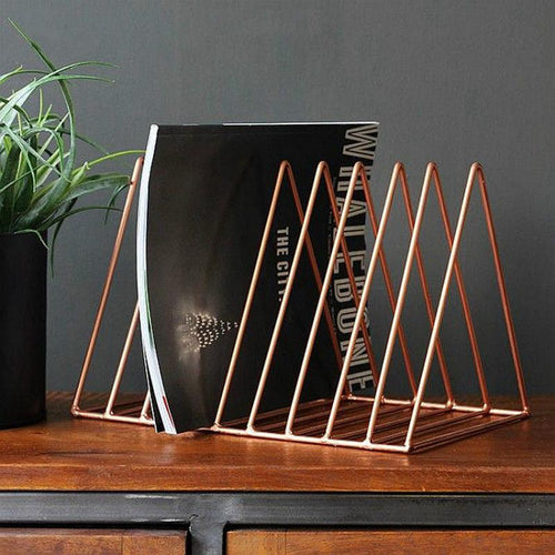 Metal Book And Magazine Rack, , Gifts for Designers, Clean minimal gifts for designers and creatives, gift, design, designer - Gifts for Designers, Gifts for Architects