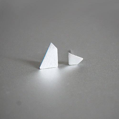 Abstract Polygon Stud Earrings, , Gifts for Designers, Clean minimal gifts for designers and creatives, gift, design, designer - Gifts for Designers, Gifts for Architects