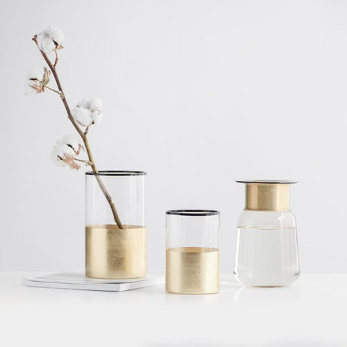 Decorative glass flower vases, , Gifts for Designers, Clean minimal gifts for designers and creatives, gift, design, designer - Gifts for Designers, Gifts for Architects