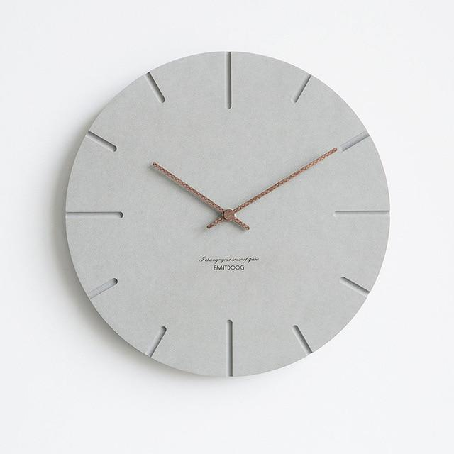 Nordic Wall Clock, , Gifts for Designers, Clean minimal gifts for designers and creatives, gift, design, designer - Gifts for Designers, Gifts for Architects