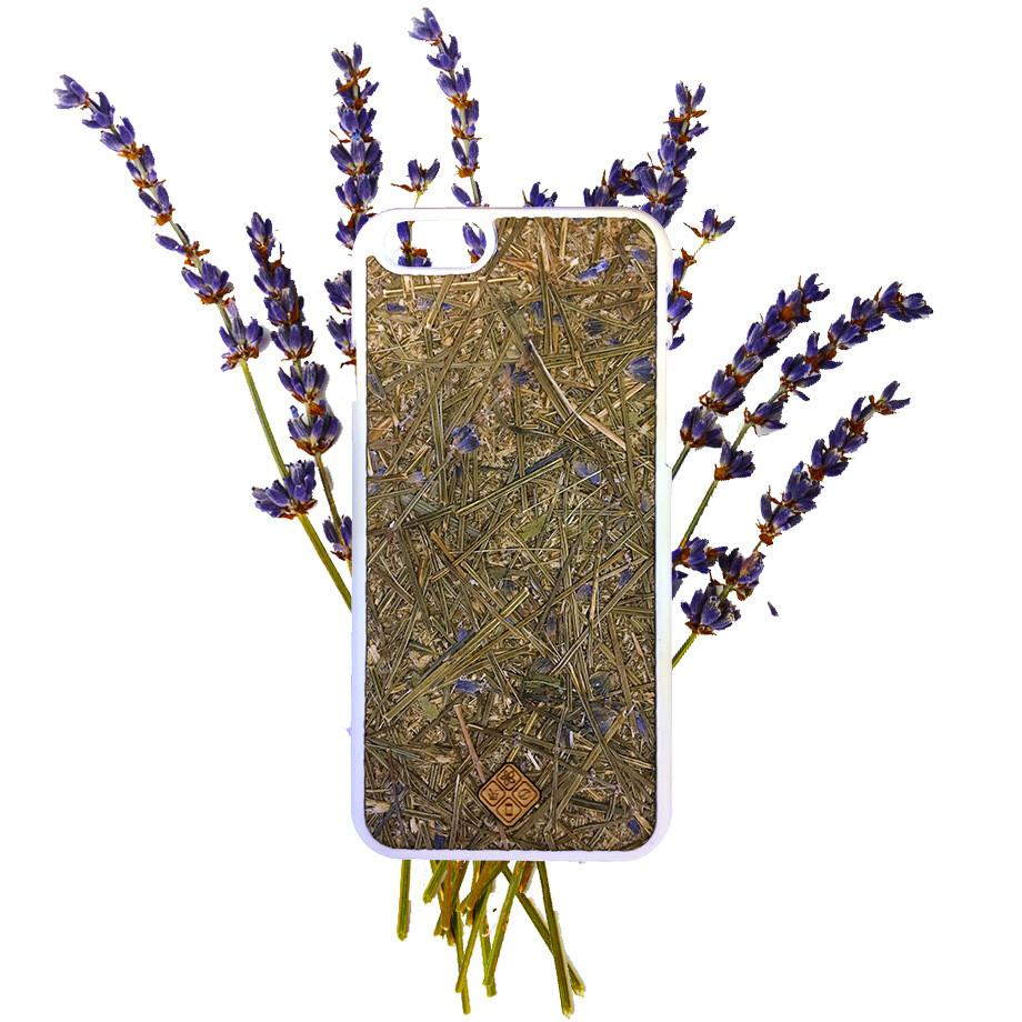 Aromatic Lavender Phone Case - Made with Real Organic Handpicked Materials, , Gifts for Designers, Clean minimal gifts for designers and creatives, gift, design, designer - Gifts for Designers, Gifts for Architects