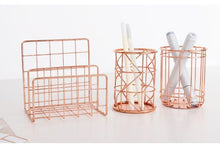The Nordic Rose Gold Stainless Steel Desk Organizers, , Gifts for Designers, Clean minimal gifts for designers and creatives, gift, design, designer - Gifts for Designers, Gifts for Architects