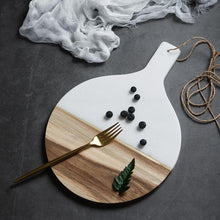 Marble Wooden Plate, , Gifts for Designers, Clean minimal gifts for designers and creatives, gift, design, designer - Gifts for Designers, Gifts for Architects