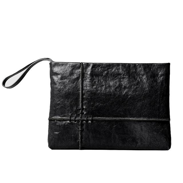 Genuine Leather Clutch, , Gifts for Designers, Clean minimal gifts for designers and creatives, gift, design, designer - Gifts for Designers, Gifts for Architects