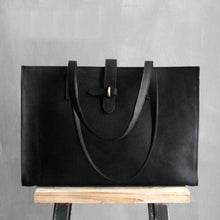 Crazy Horse Leather Tote Bag | Crazy Horse Leather Should Bag, , Gifts for Designers, Clean minimal gifts for designers and creatives, gift, design, designer - Gifts for Designers, Gifts for Architects