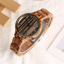 Woman's Nature Wooden Watch, , Gifts for Designers, Clean minimal gifts for designers and creatives, gift, design, designer - Gifts for Designers, Gifts for Architects