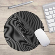 Minimal Curves Mouse Pad, , Gifts for Designers, Clean minimal gifts for designers and creatives, gift, design, designer - Gifts for Designers, Gifts for Architects