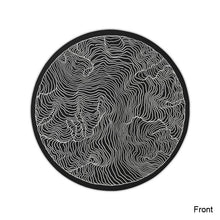 Mouse Pad with Topographic Lines, , Gifts for Designers, Clean minimal gifts for designers and creatives, gift, design, designer - Gifts for Designers, Gifts for Architects